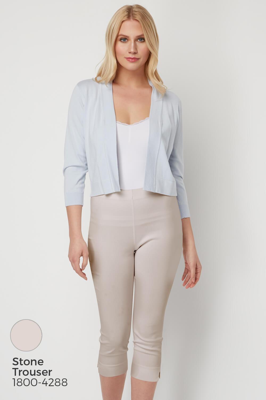 Roman-Originals-Women-Lace-Back-Detail-Shrug-Ladies-Bolero-Jacket thumbnail 20