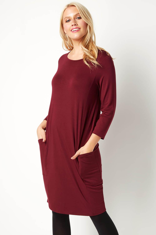Roman-Originals-Womens-Slouch-Tunic-Dress thumbnail 26