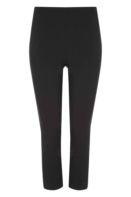 Cropped-Stretch-Capri-Bengaline-Trousers-3-4-Thick-Legging-Women-Roman-Originals 縮圖 6