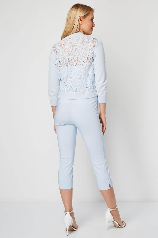 Roman-Originals-Women-Lace-Back-Detail-Shrug-Ladies-Bolero-Jacket thumbnail 16