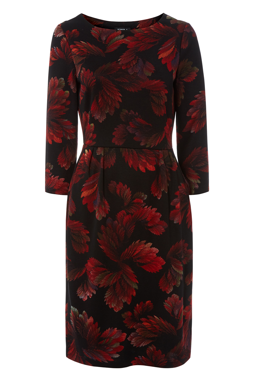 Roman-Originals-Women-Floral-Ponte-Dress thumbnail 14