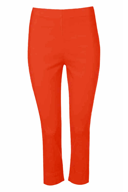 Cropped-Stretch-Capri-Bengaline-Trousers-3-4-Thick-Legging-Women-Roman-Originals 縮圖 314
