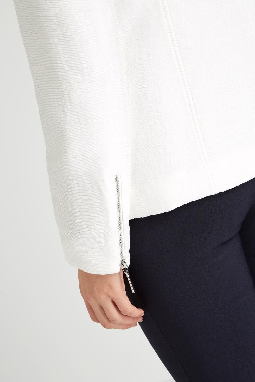 Roman-Originals-Women-039-s-White-Pleat-Tailored-Jacket-Sizes-10-20 thumbnail 17