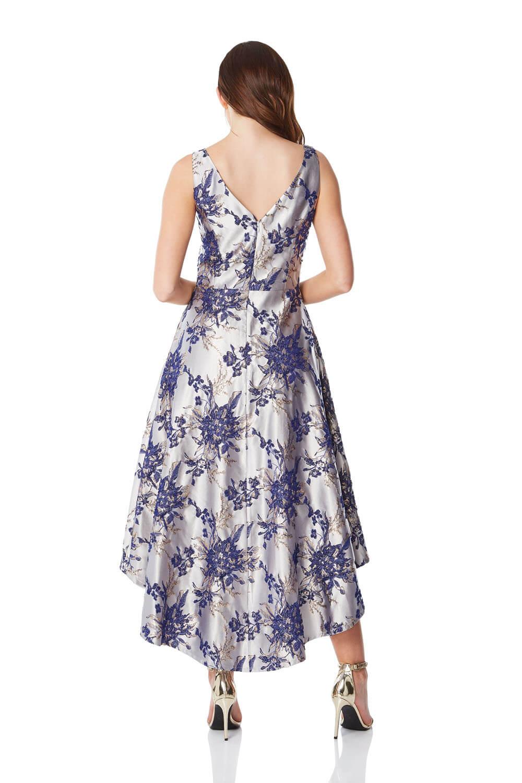 Roman-Originals-Women-Floral-Jacquard-Gown-Dress thumbnail 9