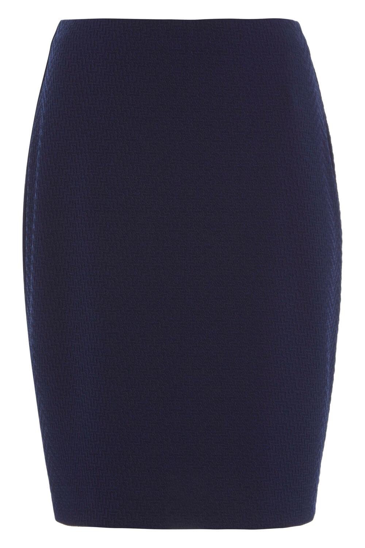 thumbnail 34 - Roman Originals Women's Textured Cotton Mix Jersey Short Skirt Formal Work Wear