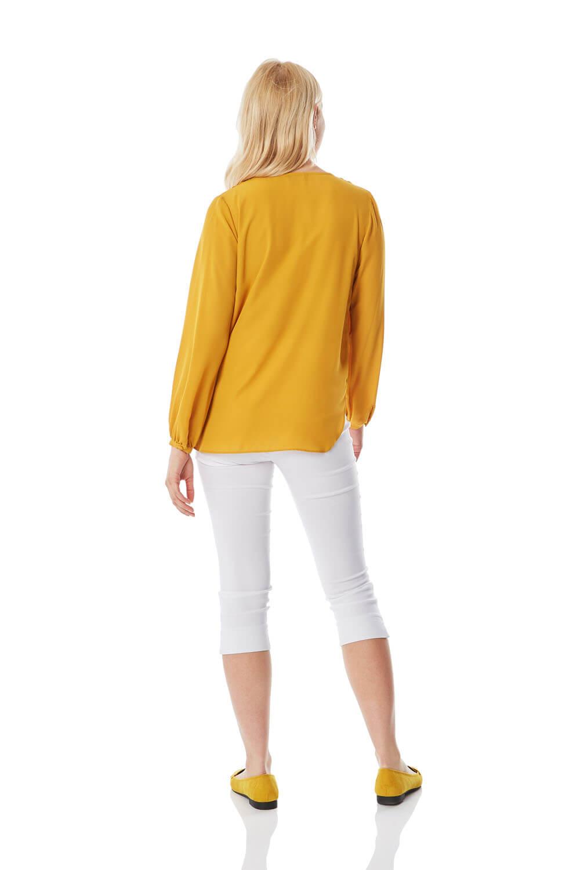 Roman-Originals-Women-039-s-Button-Tie-Front-Blouse-Ladies-Tops thumbnail 22