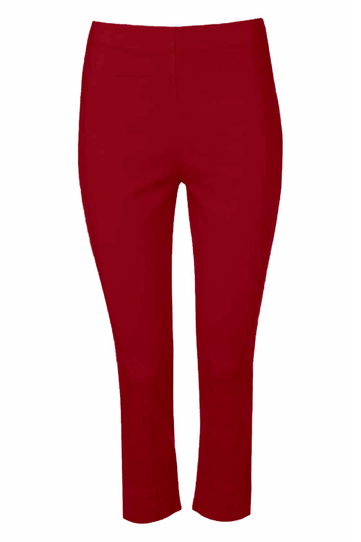 Cropped-Stretch-Capri-Bengaline-Trousers-3-4-Thick-Legging-Women-Roman-Originals 縮圖 304