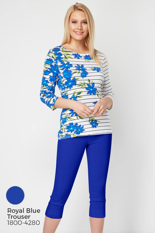 Roman-Originals-Women-039-s-Stripe-Floral-Top-Sizes-10-20 thumbnail 23