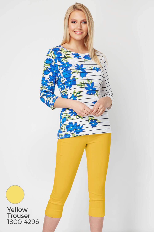 Roman-Originals-Women-039-s-Stripe-Floral-Top-Sizes-10-20 thumbnail 25
