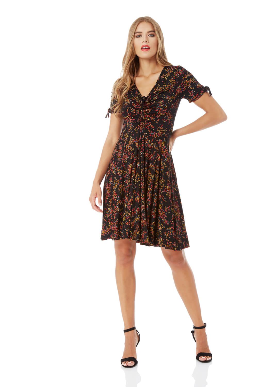 Roman-Originals-Women-039-s-Ditsy-Floral-Dress-Sizes-10-20 thumbnail 10