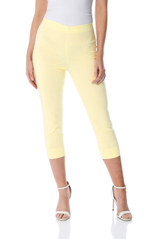 Cropped-Stretch-Capri-Bengaline-Trousers-3-4-Thick-Legging-Women-Roman-Originals 縮圖 216