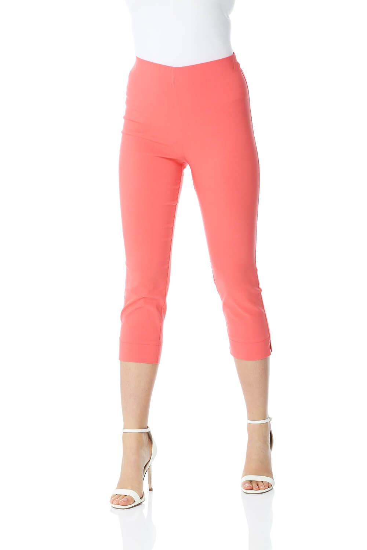 Cropped-Stretch-Capri-Bengaline-Trousers-3-4-Thick-Legging-Women-Roman-Originals 縮圖 174