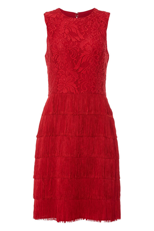 thumbnail 26 - Roman-Originals-Womens-Lace-Flapper-Tassels-Dress-in-Black-Sizes-10-20