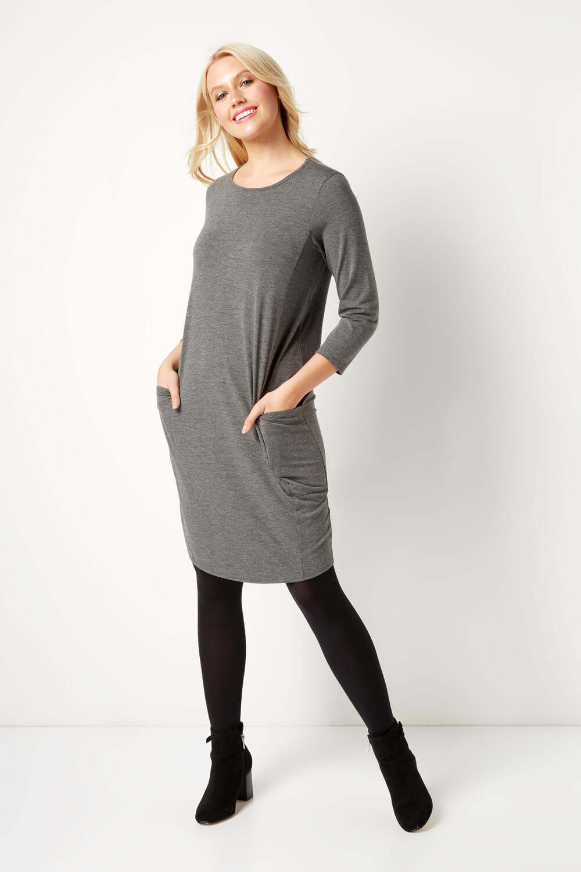 Roman-Originals-Womens-Slouch-Tunic-Dress thumbnail 22