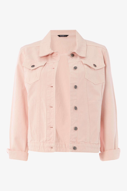 Roman-Originals-Women-039-s-Denim-Jacket-Sizes-10-20 thumbnail 12