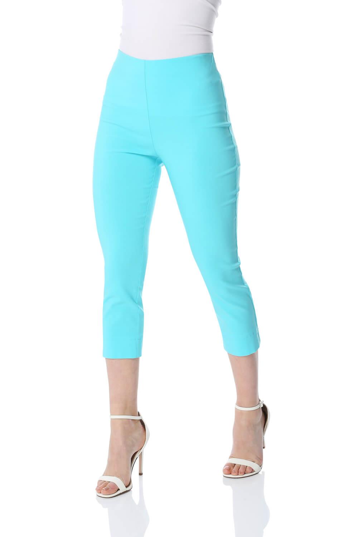 Cropped-Stretch-Capri-Bengaline-Trousers-3-4-Thick-Legging-Women-Roman-Originals 縮圖 338