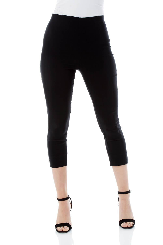 Cropped-Stretch-Capri-Bengaline-Trousers-3-4-Thick-Legging-Women-Roman-Originals