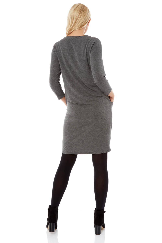 Roman-Originals-Womens-Slouch-Tunic-Dress thumbnail 20