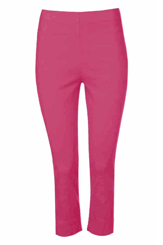 Cropped-Stretch-Capri-Bengaline-Trousers-3-4-Thick-Legging-Women-Roman-Originals 縮圖 128