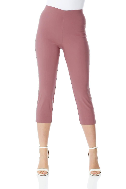 Cropped-Stretch-Capri-Bengaline-Trousers-3-4-Thick-Legging-Women-Roman-Originals 縮圖 63