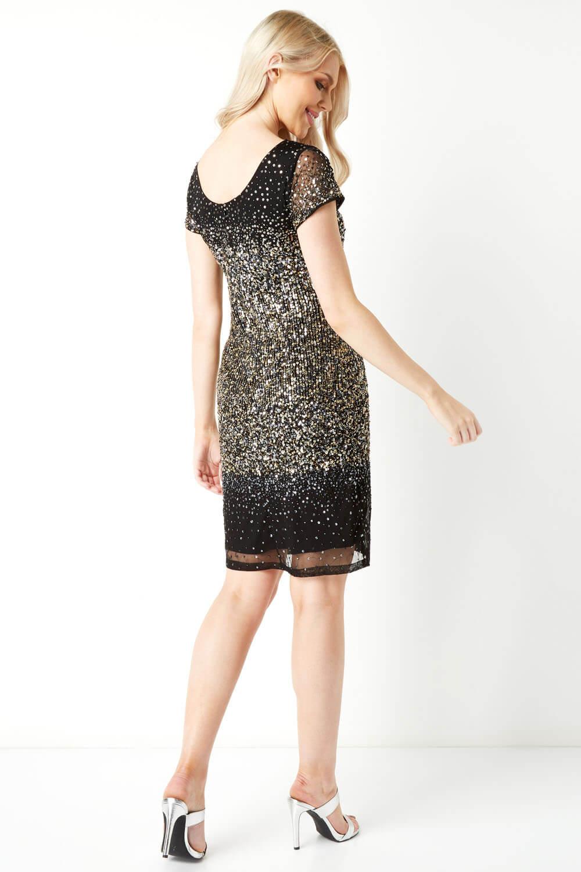 Roman-Originals-Women-Ombre-Sequin-Dress-in-size-10-20 thumbnail 16