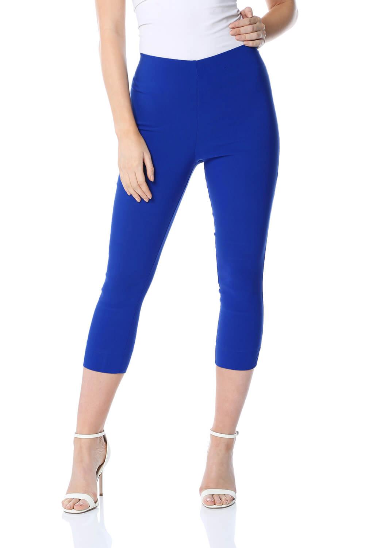 Cropped-Stretch-Capri-Bengaline-Trousers-3-4-Thick-Legging-Women-Roman-Originals 縮圖 31